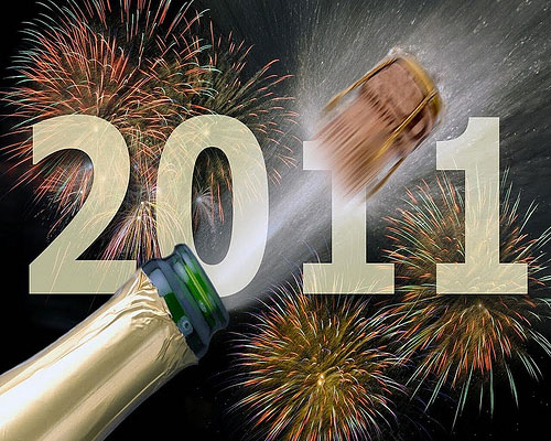 it's New Years Eve.. the brith of 2011 (it's an End of a Year,
